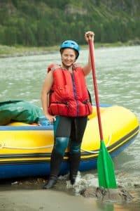 Rafting en el valle del jerte
