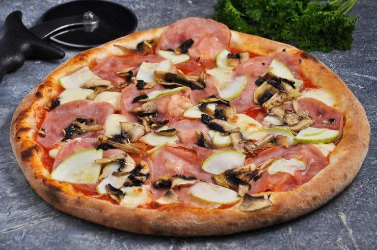 pizza en sarten